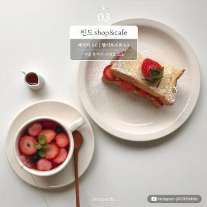 ③ 린도 shop&cafe 베리티 6,000원|딸기 토스트 6,500원 서울 동작구 사당로 251   Instagram @030bbbbb