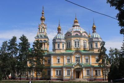 임종수의 중앙아시아 여행기 (5) - 못을 쓰지 않고 지은 젠코로바 성당과 카자흐스탄 전통 민속악기 박물관(알마티 시내)