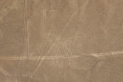 나스카와 후마나 평원의 선과 지상 그림