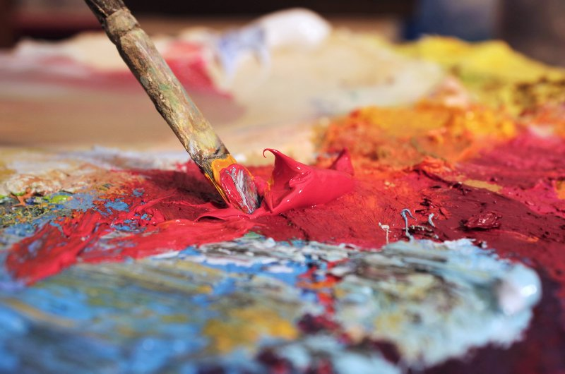 Paint Oil Mixing