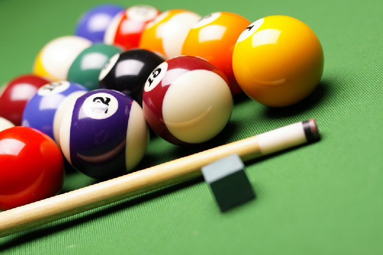 pics of pool balls