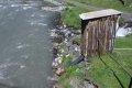 코커서스 산속의 깨끗한 화장실