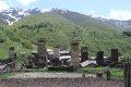 코커서스 산속 우쉬굴리 마을의 농사