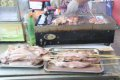 다롄 철판오징어 구이