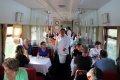 징바오철도 기차내식사