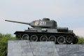 포베디 기념 공원 탱크