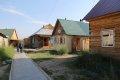 이보르킨스키 사원의 목조가옥들