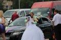 혁명광장의 결혼식 풍경