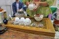 '2014년 세계 차(茶) 박람회' 차 우려내는 모습