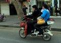 타이안 태묘에서 시외로 가는길 모터사이클 풍경