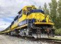 앵커리지에서 페어뱅크스 알래스카 기관차