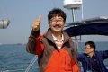 한국 최초 단독 무기항 무원조 무동력 요트 세계일주 출항식