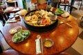 춘천 어느 식당의 닭갈비