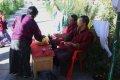3대왕추모탑의 부탄사람들