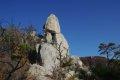 포천 운악산 - 2코스 하산길의 바위들
