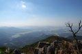 홍성 오서산 - 전망데크에서의 조망