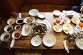 과천 어느 식당의 간장게장 정식