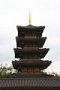 백제문화단지 오층목탑