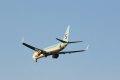 인천공항에 도착하는 대한항공 보잉 737-800