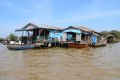 톤레삽 호수 수상가옥