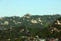 팔각정공원 에서 본 북한산 비봉