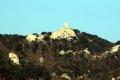 팔각정공원 에서 본 북한산 사모바위