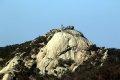 팔각정공원 에서 본 북한산 족두리봉