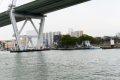 산타마리아호에서 바라본 오사카항만