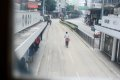 코즈웨이 트램에서 바라본 도심풍경