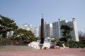 안성성당 100주년 기념 로고스탑