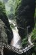 용수협지봉 협곡 급류