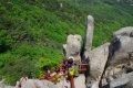 용봉산 - 솟대바위