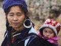베트남 어머니와 자녀