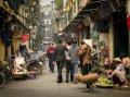 하노이 호안끼엠의 풍경