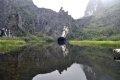 닌빈 땀꼭 공원의 전경