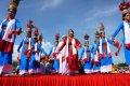 닌투언 판랑 작은 마을의 축제