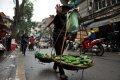 하노이 거리의 과일 상인들 01