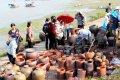 하이즈엉의 도자기 시장
