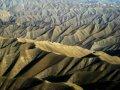 카불의 바위투성이의 산