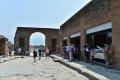 폼페이 Via degli Augustali 거리