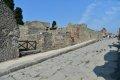 폼페이 Via Stabiana 거리