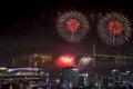 광복 70주년 부산항 불꽃축제