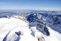 센티스 산 정상의 겨울 풍경