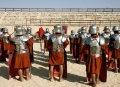 제라시 경기장의 로마 군병 쇼