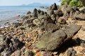 코 툰사이 섬의 바위