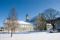 겨울에 본 허스틴펠트 수도원