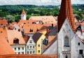 카우프보이렌의 오래된 도시와 교회