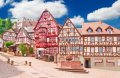 밀텐베르크의 목재 골조 주택