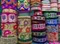 다카 시장의 옷감