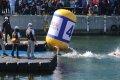 트라이애슬론 수영 1.5km 반환점